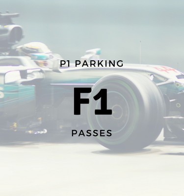 P1 Parking F1 Grand Prix Passes